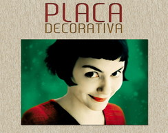 PLACA DECORATIVA - AMELIE PULAIN 01