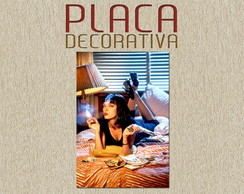 PLACA DECORATIVA - PULP FICTION 01