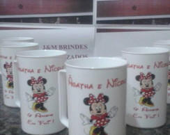 Canecas Acrílicas Minnie 350 ml