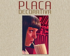 PLACA DECORATIVA - PULP FICTION 02