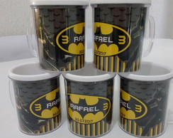 Caneca do Batman e Batgirl Personalizada