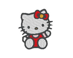 Matriz de Bordado - Hello Kitty