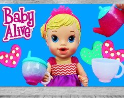 Painel Baby Alive - Frete Grátis