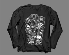 Manga Longa Masculina Fall Out Boy