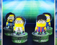 Latinha 3d Minions Champions League