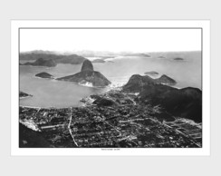 Poster P, M, G Vista do Corcovado -1908