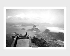 Poster P, M, G Vista do Corcovado -1910