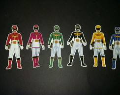 Power Rangers tags 7 cm