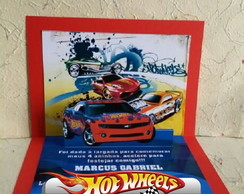 Convite Hot Wheels