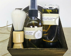 Kit barba com caixa modelo 2