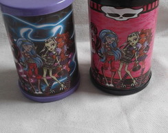 Cofrinho Personalizado Monster High
