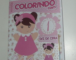 Kit Colorir - Bonequinha