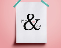 Poster You and Me #2 | A4