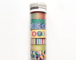 Tubo Medio de Washi Tape- WK0060m