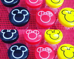Potinho decorado Mickey ou Minnie