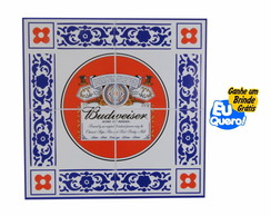 Placa MDF decorativa - Budweiser