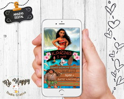 Convite digital whatsapp Festa Moana