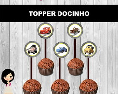 Topper Carros Disney