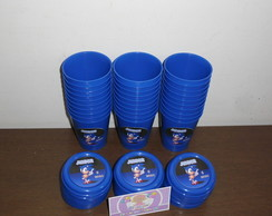 Copinhos 200ml Com tampa Sonic