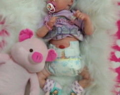 Bebe Reborn Princess + Placa de barriga