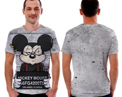 Camiseta camisa do mickey Preso