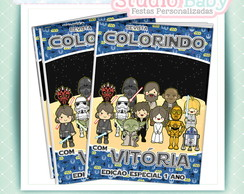 Revista de colorir Star Wars