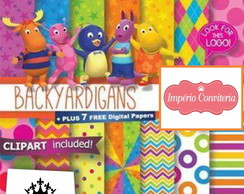 Kit Digital Scrapbook Backyardigans 4