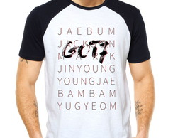 Camiseta Got7 Integrantes KPOP Raglan