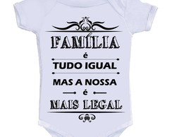 Body Divertido - Família É Mais Legal