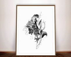 POSTER ABSTRACT GICLEE - ARTE DIGITAL