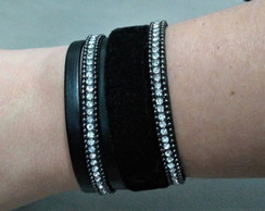 Mix Pulseiras Black Strass - Black Week Sofistics