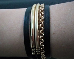 Bracelete Mix Golden- Black Week Sofistics