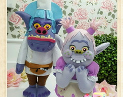 Chef e Bridget - Bergens do filme Trolls