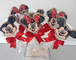 Biscoitos Decorados Mickey e Minnie