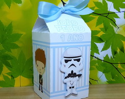 Caixa Milk com Scrap Star Wars Cute