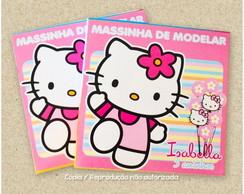 Massinha de Modelar Hello Kitty