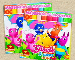 Massinha de Modelar Backyardigans
