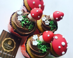 Mini Cupcakes - Floresta , Woodland