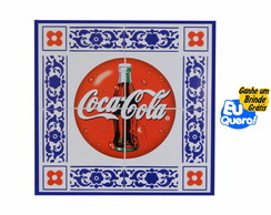 Placa MDF decorativa - Coca Cola