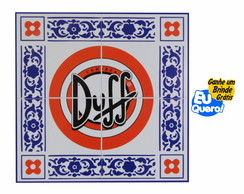 Placa MDF decorativa - Duff