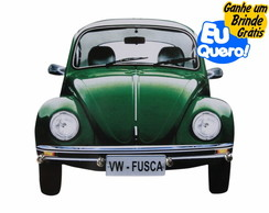 Porta Chaves MDF - Fusca Verde