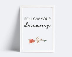 Quadro Follow your Dreams #3 | 20x30