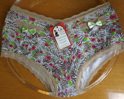 Calcinha Box Cotton Ref. 006