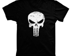 Camiseta Herói Justiceiro / Punisher