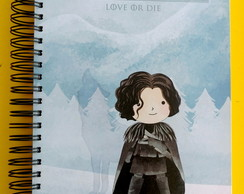 Caderno Universitário A4 - Game Of Thrones