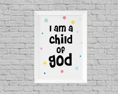 Quadro infantil child of god