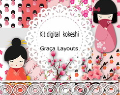 Kit Digital Kokeshi