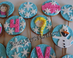 Biscoitos decorados - FROZEN