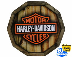 Tampa de Barril - Motor Cycles