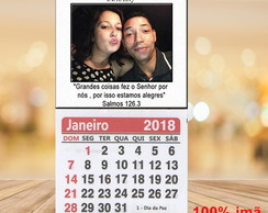 Mini Calendário 2018 save the date